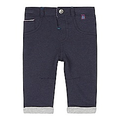 Baker by Ted Baker - Baby boys' navy herringbone trousers