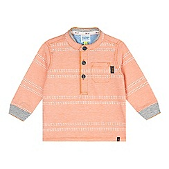 Baker by Ted Baker - Baby boys' orange textured stripe top