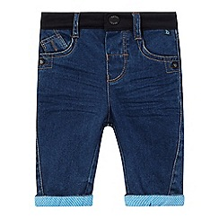 Baker by Ted Baker - Baby boys' blue cuffed jeans