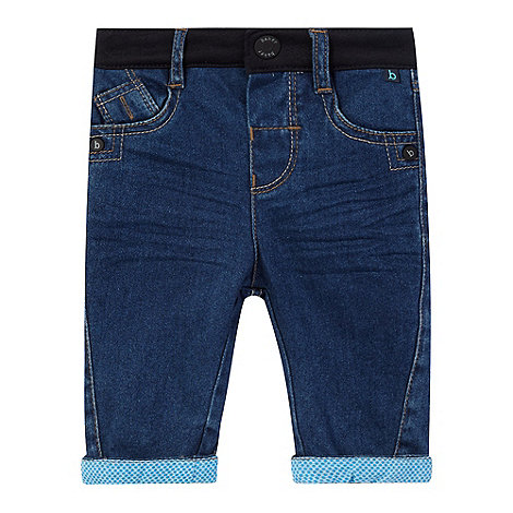 Baker by Ted Baker - Baby boys+ blue cuffed jeans