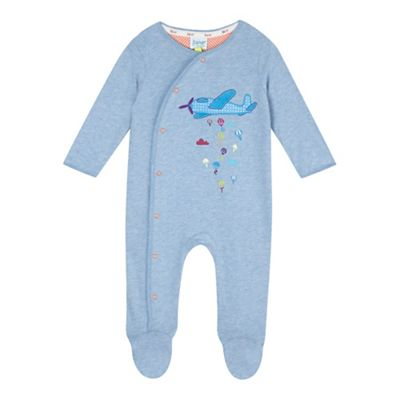 Baker by Ted Baker Baby boys plane sleepsuit