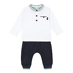 Baker by Ted Baker - Set of baby boys' t-shirt and trousers
