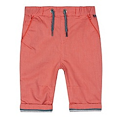 Baker by Ted Baker - Baby boys' slim fit red textured chinos