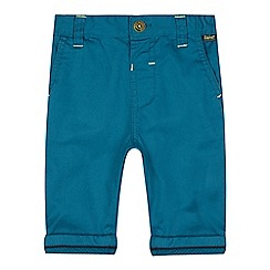 Baker by Ted Baker - Baby boys' slim fit turquoise chinos