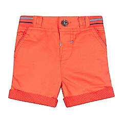 Baker by Ted Baker - Baby boys' red spotted trim print shorts