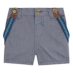 Baker by Ted Baker - Baby boys' navy shorts and braces set