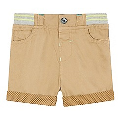 Baker by Ted Baker - Baby boys' beige twill chino shorts