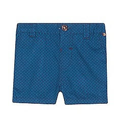 Baker by Ted Baker - Baby boys' blue geometric print shorts