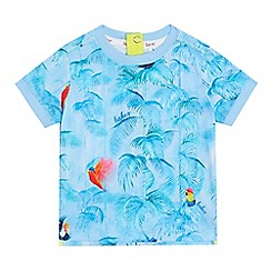 Baker by Ted Baker - Baby boys' blue toucan print t-shirt