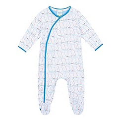 Baker by Ted Baker - Baby boys' white toucan sleepsuit