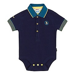 Baker by Ted Baker - Baby boys' navy polo bodysuit