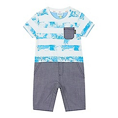 Baker by Ted Baker - Baby boys' light green striped romper