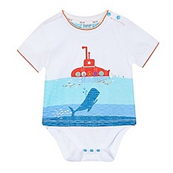 Baker by Ted Baker - Baby boys' submarine printed bodysuit