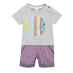 Baker by Ted Baker - Baby boys' multi-coloured romper suit
