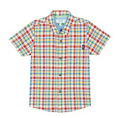 Baker by Ted Baker - Baby boys' red checked shirt