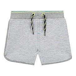 Baker by Ted Baker - Baby boys' grey striped jersey shorts