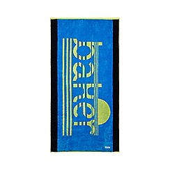 Baker by Ted Baker - Boys' blue logo print towel
