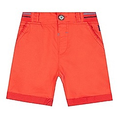 Baker by Ted Baker - Boys' red ribbed shorts
