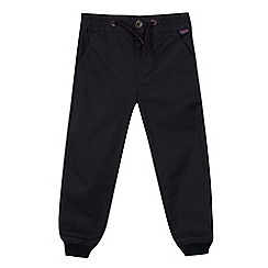 Baker by Ted Baker - Boys' navy woven jogging bottoms