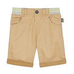 Baker by Ted Baker - Boys' beige chino shorts