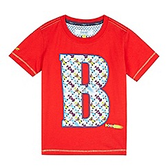 Baker by Ted Baker - Boys' red car 'B' t-shirt