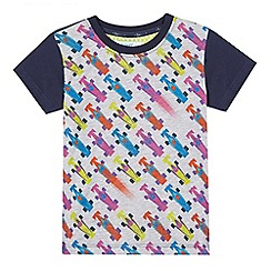 Baker by Ted Baker - Boys' navy race car t-shirt