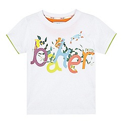 Baker by Ted Baker - Boys' white frog 'Baker' t-shirt