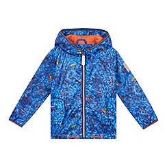 Baker by Ted Baker - Boys' blue tree frog print hooded jacket