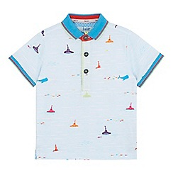 Baker by Ted Baker - Boys' light blue submarine polo shirt