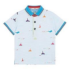 Baker by Ted Baker - Boys' light blue submarine polo shirt