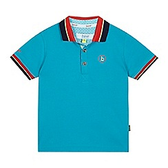 Baker by Ted Baker - Boys' turquoise logo polo shirt