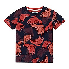 Baker by Ted Baker - Boys' orange palm tree print t-shirt