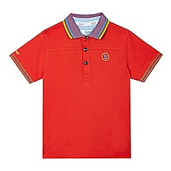 Baker by Ted Baker - Boys' red polo shirt