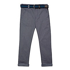 Baker by Ted Baker - Boys' navy belted trousers