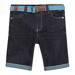 Baker by Ted Baker - Boys' navy denim shorts