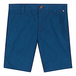 Baker by Ted Baker - Boys' navy geometric print shorts