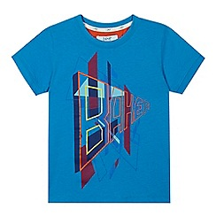 Baker by Ted Baker - Boys' blue 'Baker' print t-shirt