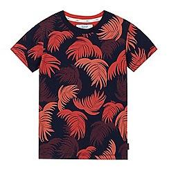 Baker by Ted Baker - Boys' orange palm tree print t-shirt