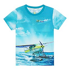 Baker by Ted Baker - Boys' blue seaplane print top