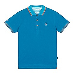 Baker by Ted Baker - Boys' dark turquoise logo applique polo shirt