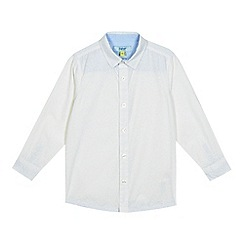 Baker by Ted Baker - Boys' white floral print shirt