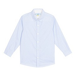 Baker by Ted Baker - Boys' blue textured formal shirt