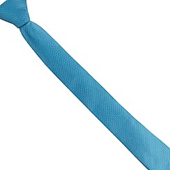 Baker by Ted Baker - Boys' blue leaf patterned tie