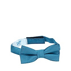 Baker by Ted Baker - Boys' blue zig zag patterned bow tie
