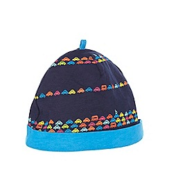 Baker by Ted Baker - Baby boys' navy car stripe print hat