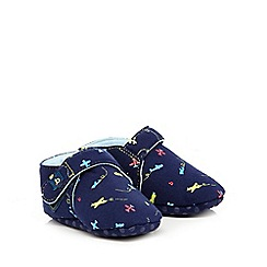Baker by Ted Baker - Baby boys' plane print booties