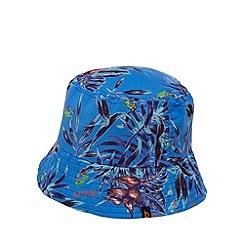Baker by Ted Baker - Boys' blue tree frog forest print fisherman hat