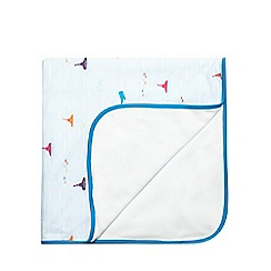 Baker by Ted Baker - Baby boys' blue submarine print blanket