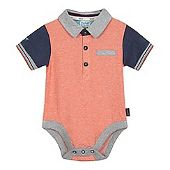 Baker by Ted Baker - Baby boys' orange polo body suit