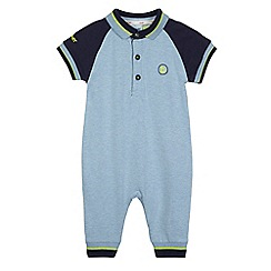 Baker by Ted Baker - Baby boys' polo romper suit